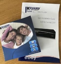 Kguard Système De Sécurité 1tb Enregistreur Vidéo Numérique Hybride