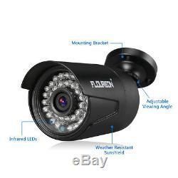 Kit Extérieur 1tb De Vidéo Surveillance De Système De Caméra De Sécurité À La Maison De 8ch 1080p 3000tvl Extérieur