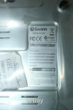 Nouveau Swann Dvr-1425 4 Channel 500go Hdd Cctv Digital Video Recorder #ref32