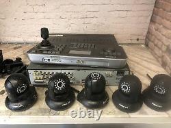 Samsung Enregistreur Vidéo Numérique Srd-870d, Ssc-5000 Clavier Et 5 Foscam Cctv