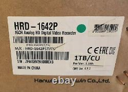 Samsung Hrd-1642 16 Canal Full Hd 1080p Analogique Dvr Cctv Recorder 1 To Hdd