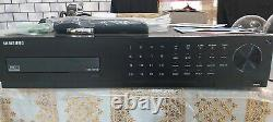 Samsung Srd-1676dp Cctv Security Recorder Dvr 16 Channels Accessories Inc + 4 To