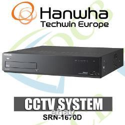 Samsung Srn-1670dp 16ch Nvr Ip Cctv Recorder 1080p Hd DVD Hdmi Vga Ptz 1 To Hdd