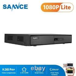 Sannce 16ch 1080n 5-en-1 Cctv Dvr 16 Canaux 1080p Hdmi Sortie Enregistreur Vidéo