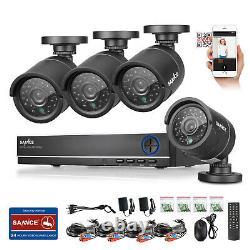 Sannce 4ch Cctv Überwachungssystem 960h Dvr +4 X 2mp Kamera