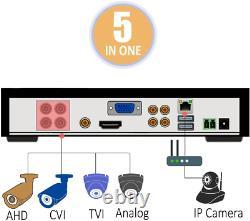 Sansco 4 Channel 1080p Enregistreur Cvr Autonome Cctv Avec Disque Dur De 1 To