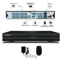 Sansco 8 Canaux 1080n Autonome Cctv Dvr Enregistreur Avec Disque Dur 2 To Pré-installé