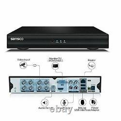 Sansco 8 Channel 1080p Hd Dvr Recorder Avec Disque Dur De 1 To Pour Cctv Security