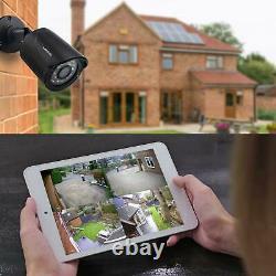 Sansco Smart Home 1080p Cctv Camera System, 4ch Dvr Recorder Avec Disque Dur 1 To