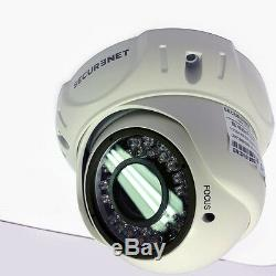 Securenet 4ch Cctv Dvr 960h Hdmi Enregistreur 2/4 Extérieur Kit Système Caméras Ir