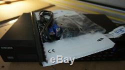 Sécurité Cctv Samsung Srd-1653d Recorder Dvr 16 Canaux Accessoires Inc + 4to