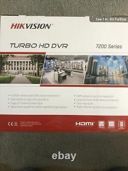 Série Hikvision Turbo Hd Dvr 7200. Vidéo Enregistreur Cctv Sécurité À Domicile