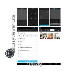 Smart Cctv Dvr 4/8/16 Canal 1080n Sécurité Hybrid Video Recorder Vga Hdmi