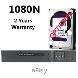 Smart Cctv Dvr 4 8 16 Canaux Ahd 1080n / 1080p Enregistreur Vidéo Hd Vga Hdmi Bnc Uk