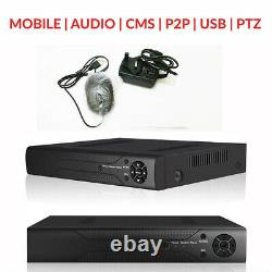 Smart Cctv Dvr 4/8/16 Chaîne Ahd Caméra Système 2mp/5mp Enregistreur Vidéo 2k Uhd Uk