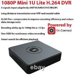 Smart Cctv Dvr 4/8/16 Channel 5 In 1 Hd 1080p Enregistreur Vidéo Hdmi Vga Bnc P2p