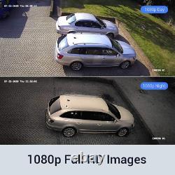 Smart Cctv Dvr 8 Channel Ahd Video Recorder 8x 2.0mp Caméras De Sécurité 1 To Hd Bnc