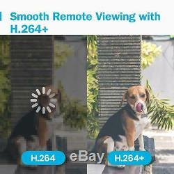 Smart Hd Dvr Cctv Caméra 1080p 8 Canaux Waterproof Video Recorder Extérieur 4g