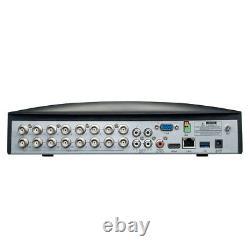 Swann 16 Channel 1tb Dvr Enregistreur Avec 8 X 1080p Full Hd Enforcer Caméras, Swdvr