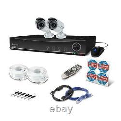 Swann 4 Channel 960h Digital Video Recorder 2 X Pro-842 Caméras Cctv Kit
