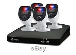 Swann 8 Canaux Dvr Avec Enregistreur 1tb 4 X 1080p Full Hd Exécuteur Caméras, Swdvk