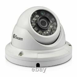 Swann 8 Channel 1080p Hd Dvr Enregistreur 1 To Hdd & Pro-t854 Caméra Dôme Cctv Kit