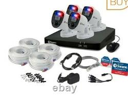 Swann 8 Channel 2tb Dvr Recorder Avec 4 X 4k Caméras D'application Ultra Hd, Swdvk-85