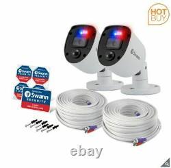 Swann 8 Channel 2tb Dvr Recorder Avec 6 X 4k Caméras D'application Ultra Hd Swdvk-856