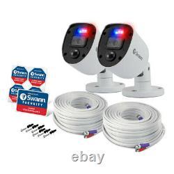 Swann 8 Channel 2tb Dvr Recorder Avec 6 X 4k Ultra Hd Enforcer Cameras, Swdvk-85