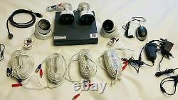 Swann Cctv Kit Dvr4 4580 4 Enregistreur De Canal + 4 X Caméras Hd + Wiring