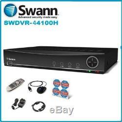 Swann Dvr4-4100 Enregistreur Vidéo Numérique 4 Canaux Cctv Hd 960h Dvr Hdmi Vga