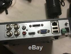 Swann Dvr4-4400 4 Canaux Hd Enregistreur Vidéo Numérique Avec 4 X Pro-a850 Cctv