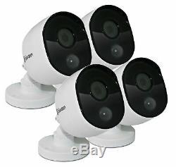 Swann Dvr4-4550 4 Canaux Enregistreur Hd Dvr 2mp Pro-1080msb Caméras Cctv Kit
