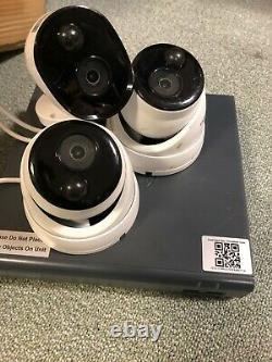 Swann Dvr4-4580 4 Canaux Hd Dvr 1 To Hdd Recorder Cctv Avec 3 Caméras