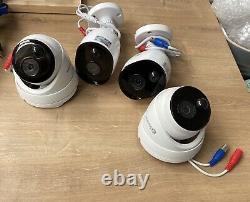 Swann Dvr4-4580v Enregistreur 4 Canaux Avec Caméra Hd 4 Vidéosurveillance Kit