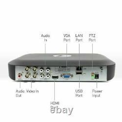 Swann Dvr4 4980 4 Canal 5mp Super Hd 1080p Dvr Ahd 1 To Hdd Cctv Recorder Hdmi
