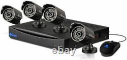 Swann Dvr83260h 8 Channel 960h Digital Video Recorder & 4 X Srpro-735wb4 Caméras