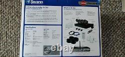 Swann Dvr8-3425 8ch Cctv 960h Enregistreur 4 X 735 Pro-cames 7 Alarme Capteurs & Siren