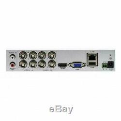 Swann Dvr8 4580 8 Canaux Full Hd 1080p 2mp Ahd Cctv Enregistreur Hdmi Sodvr84580hv