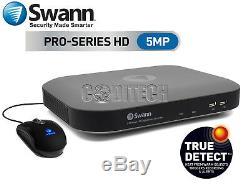 Swann Dvr8-4980 Enregistreur Vidéo Numérique (cctv) 8 Canaux 5.0mégapixels 2 To