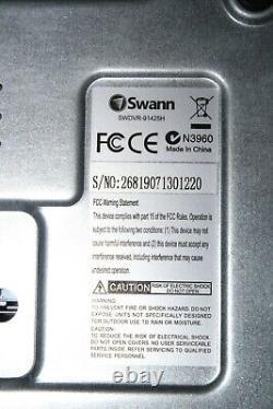 Swann Dvr-1425 (swdvr-91425h) 9 Canaux 1 To Hdd, Enregistreur De Vidéosurveillance #ref147