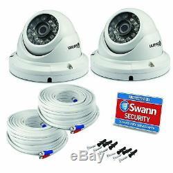Swann Dvr 4575 4 Canaux Hd Enregistreur Vidéo Numérique 2tb Pro-t854 Caméra Dôme Cctv