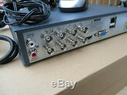 Swann Dvr-4575 8 Canaux Hd 1080p 2mp Cctv Enregistreur Et 4 X Caméras Bullet 1tb