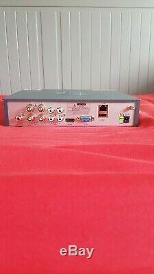Swann Dvr-4575 8 Canaux Hd 1080p Cctv Enregistreur Et 4 X Bullet Caméras