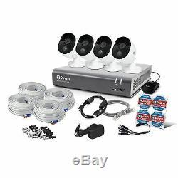 Swann Dvr-4575 Enregistreur De Vidéosurveillance Hd 8 Canaux 2 Mégapixels Et 4 Caméras Bullet 1 To
