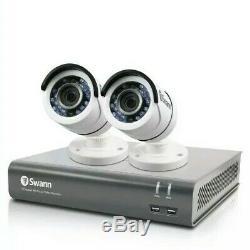 & Swann Dvr 4575 Numérique 4channel Hd Video Recorder 1tb 2x Caméra Cctv 274