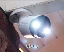 Swann Dvr 5580 8 Channel 4k Ultrahd Enregistreur 2tb Dome Bullet Kit Lampe De Poche Cctv