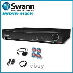 Swann Dvr 8-4100 8 Chaîne Cctv Hd 960h Digital Video Recorder 2 To Dvr Hdmi Vga