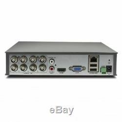 Swann Dvr Channel Hd 8/4 1 580 720p Dvr Ahd Tvi 500b Hdd Cctv Enregistreur Hdmi Vga