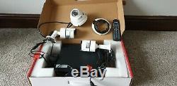 Swann Poe Hd Nvr4-7082 4 Canaux Enregistreur Vidéo Numérique De Télévision En Circuit Fermé Et 3 Caméras